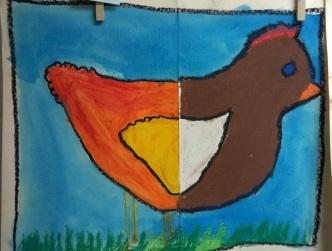 School in Love: Funky Chickens